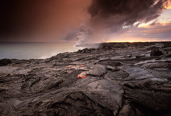 The Coastline of Volcanos National Park by Gavriel Jecan