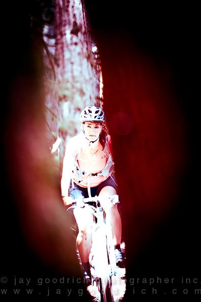 Heather Goodrich Rides The Rainforest Canon 7D Test by Jay Goodrich