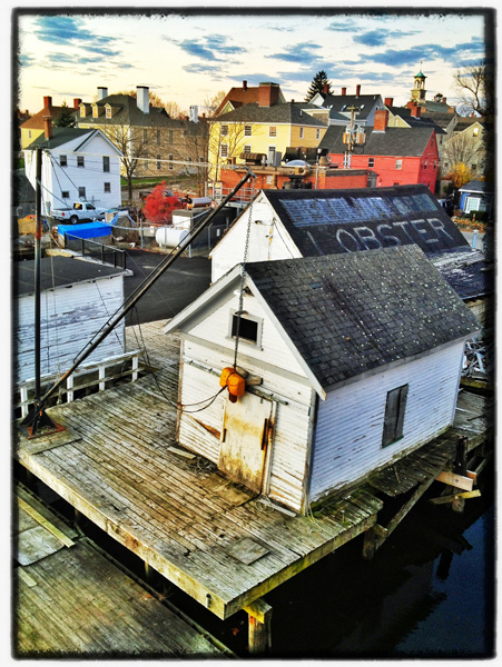 Portsmouth, New Hampshire's historic South End.