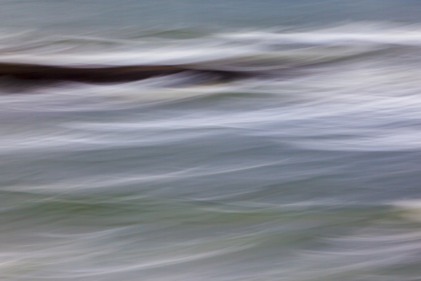 Surf abstract, Wallis Sands State Park, Rye, New Hampshire.