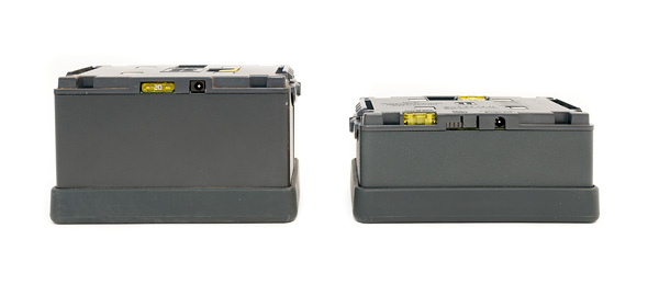Ranger Quadra Lead Gel battery and RQ Li-Ion battery