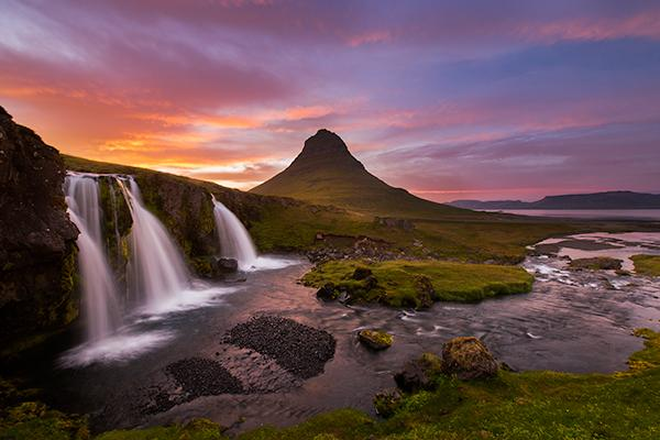 triple-falls-and-kirjufell-iceland