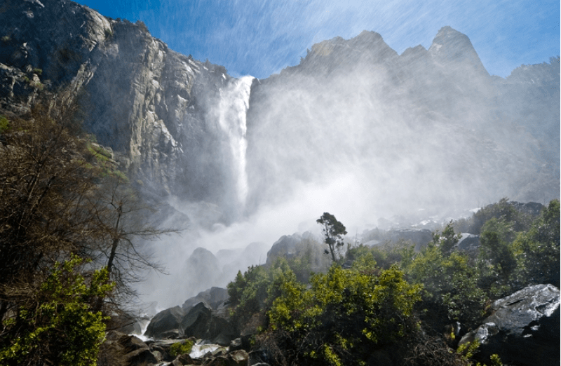 Bridalveil Fall by Neil Keller