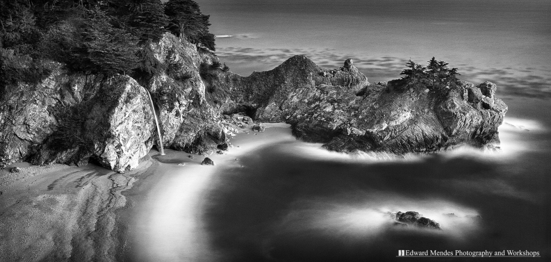 McWay Falls by Edward Mendes