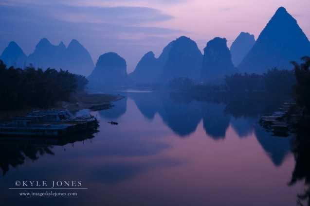 Yangshuo Bridge Dawn by Kyle Jones