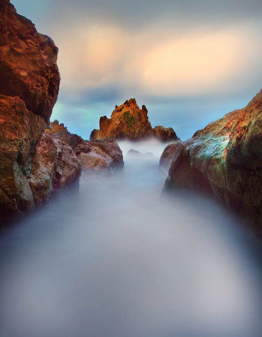 'Mystery Castle Sunset' by Kevin McNeal at Pfeiffer Beach, Big Sur, California