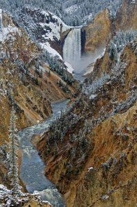 Springtime-At-Artist-Point-Sandy-Sisti-Lower-Falls-Yellowstone