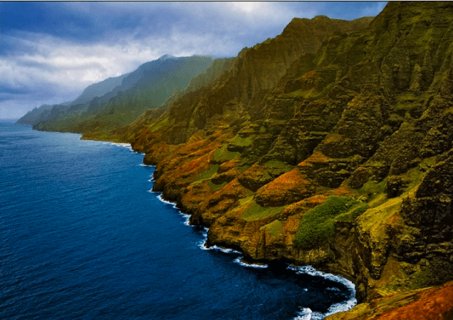 Napali Coast Kauai by Matt Anderson