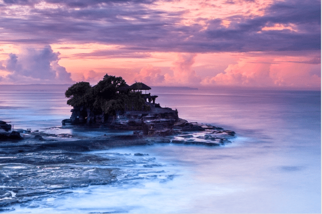 Tanah Lot Sunrise by Helminadia Jabur