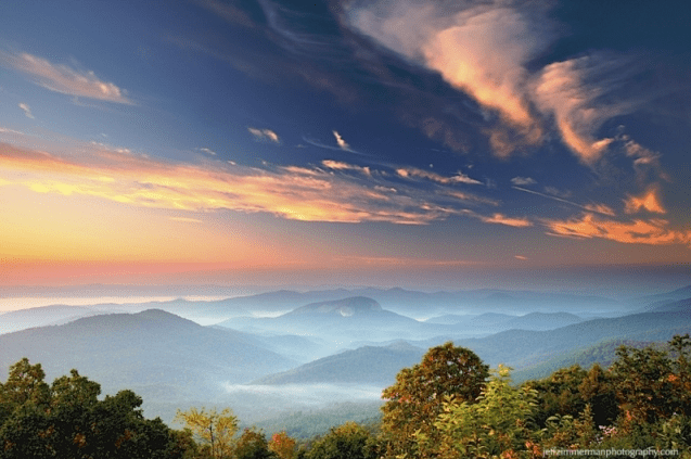 Pisgah Sunrise by Jeff Zimmerman