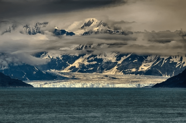Hubbard Glacier 1a by Tom Mckelvey