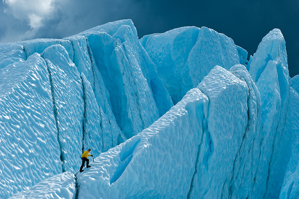 Behind The Shot: 'Ice Climbing on the Matanuska Glacier' by Tom Bol – Alaska
