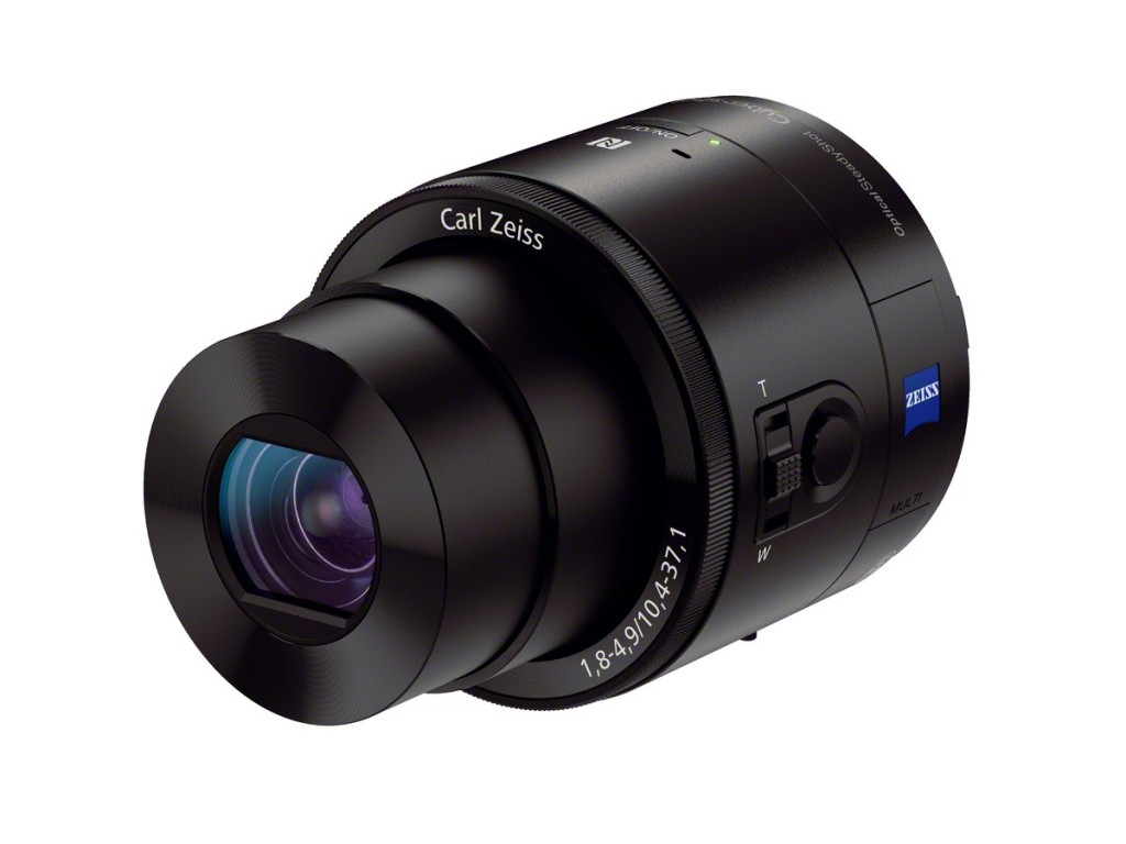Sony QX Series Lens-Style Camera
