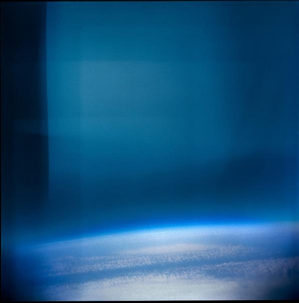 View of Earth from the Stratosphere with Holga plactic 'toy' camera space hot air balloon