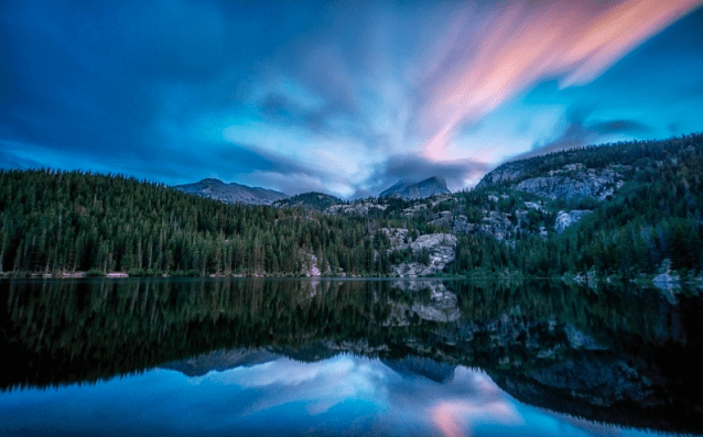 Bear Lake After Sunset by Glenn Nelson