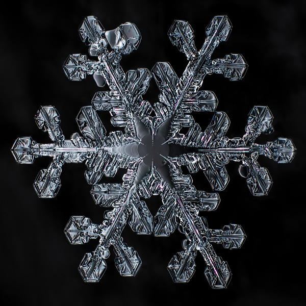 Extreme macro close up of snowflakes crystal structure macro extension tubes photography depth of field tips how to shoot take pictures focus stacking