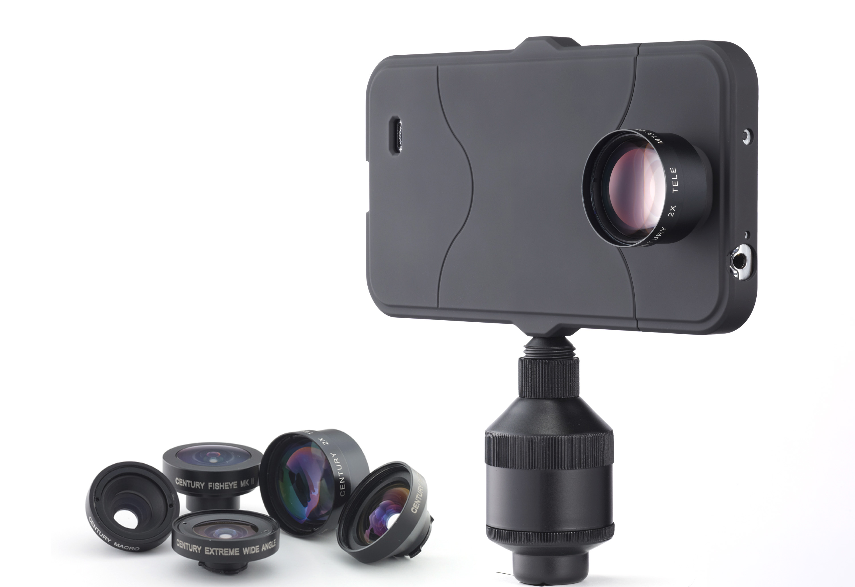 iPro Lens System Now for iPhone 5, 5S, 4/4S, Galaxy S4, & iPads