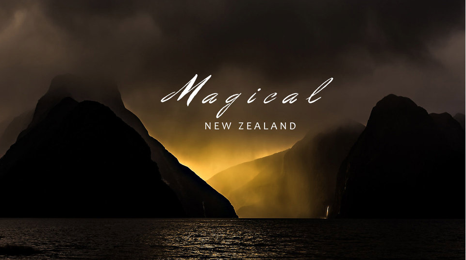 Magical New Zealand timelapse by Shawn Reeder