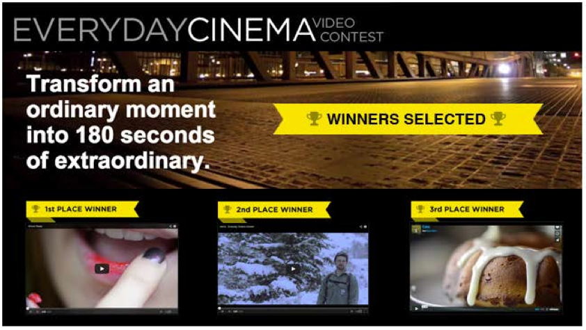 Nikon Everyday Cinema Video Contest