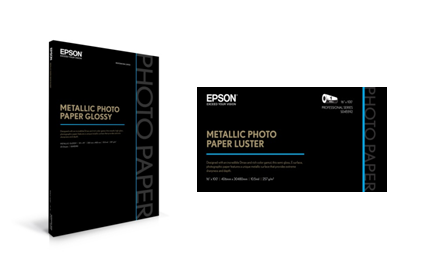 Epson Metallic Photo Papers