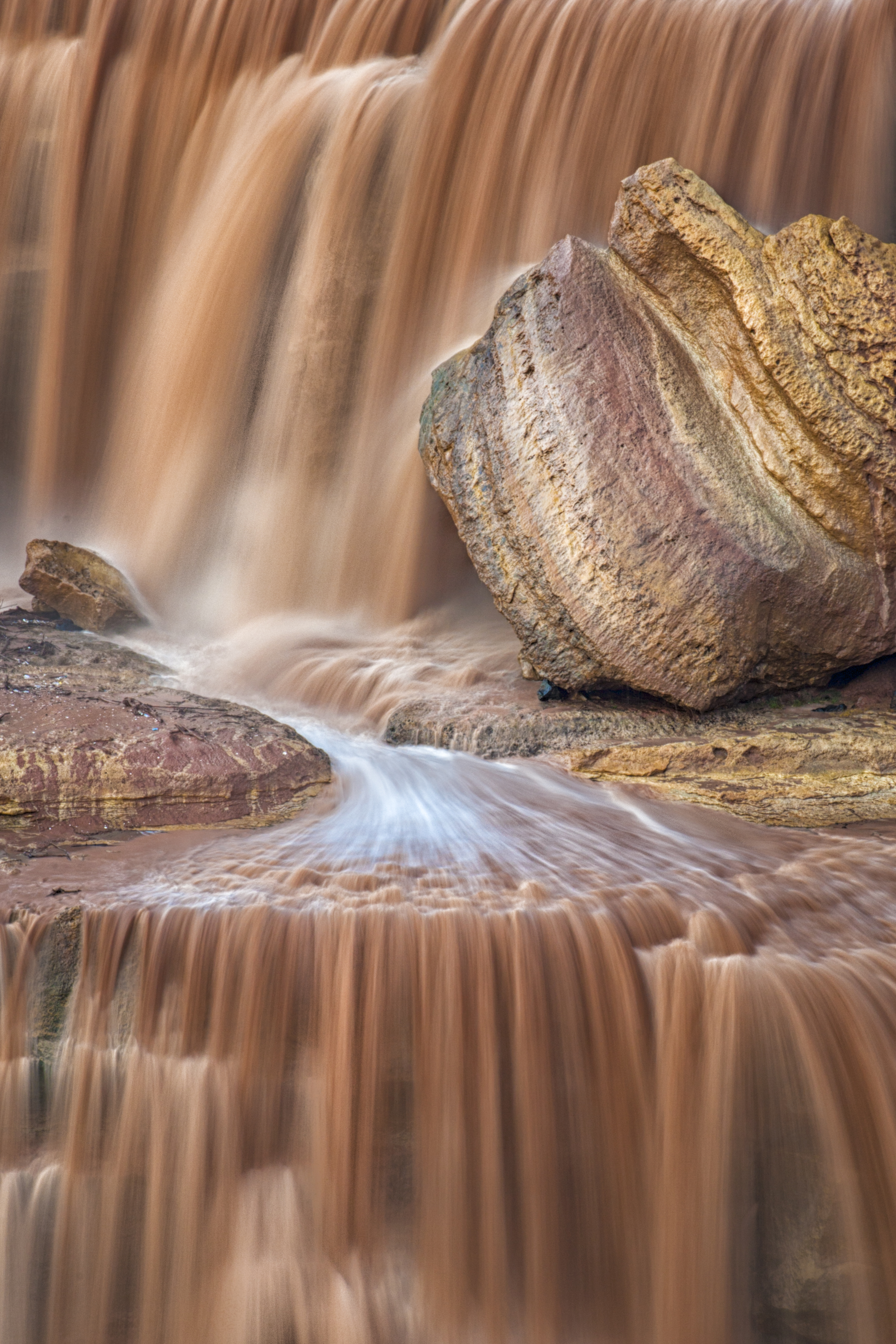'Chocolate Falls' by Suzanne Mathia