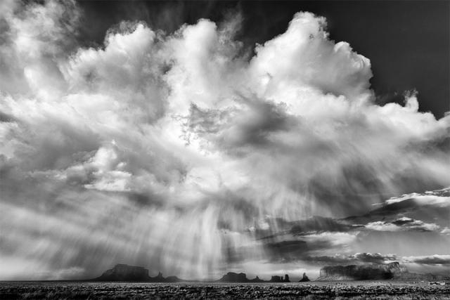 'Thunderstorm, Monument Valley' by Jim Shoemaker