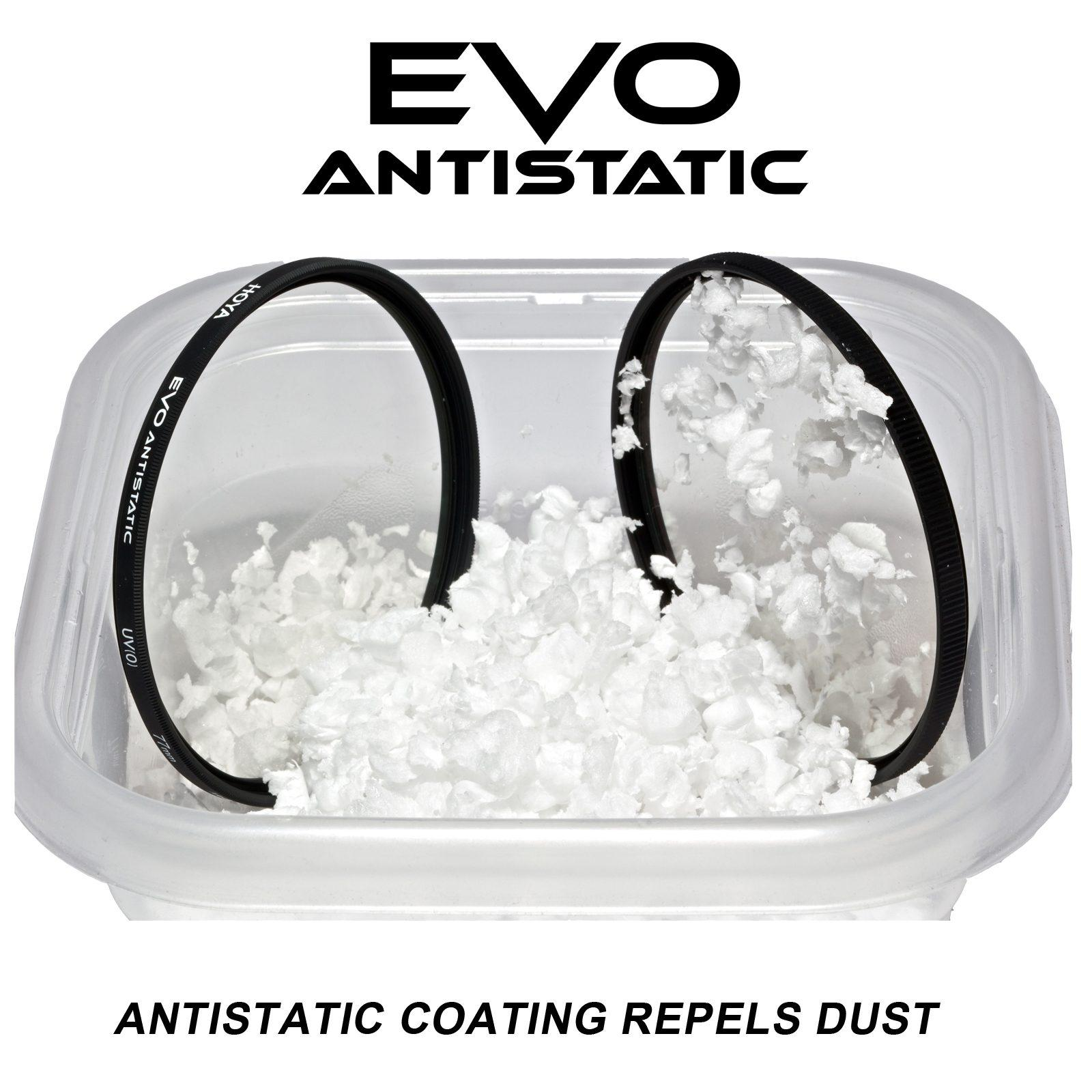 Hoya EVO Antistatic Filter Series