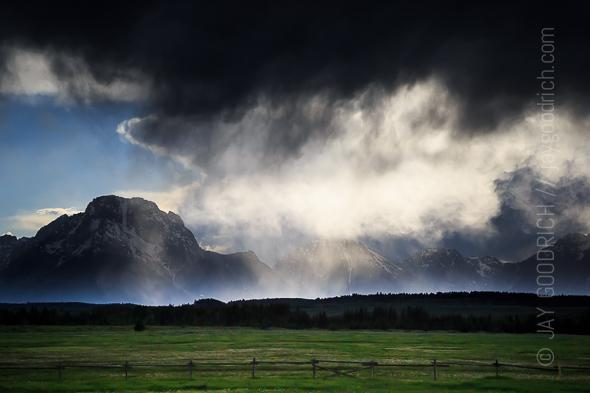 Teton Storm by Jay Goodrich
