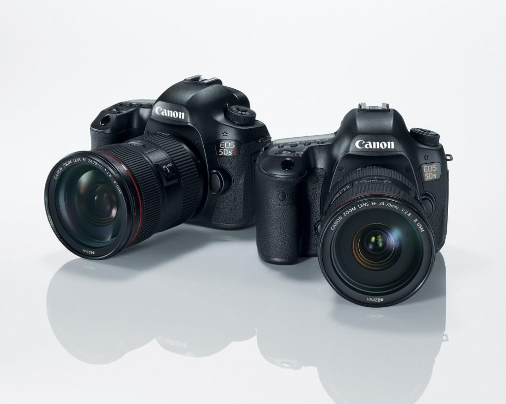 Canon EOS 5DS and 5DS R 50 Megapixels DSLRs
