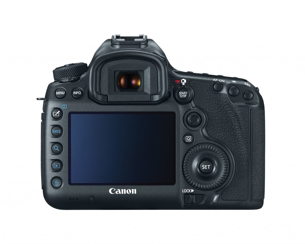 Canon EOS 5DS Back
