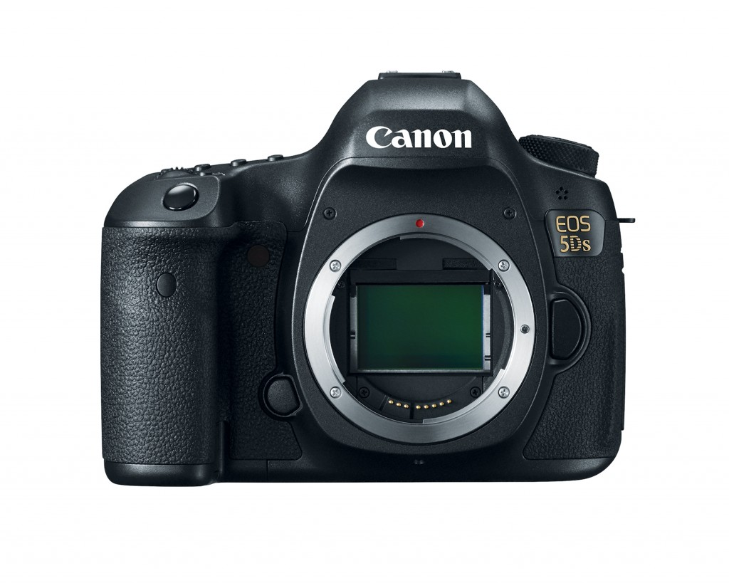 Canon EOS 5DS With 50.6 Megapixel Sensor Shown