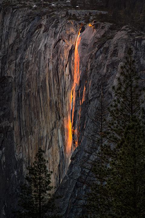 'Horsetail Falls' by Vincent Bonafede