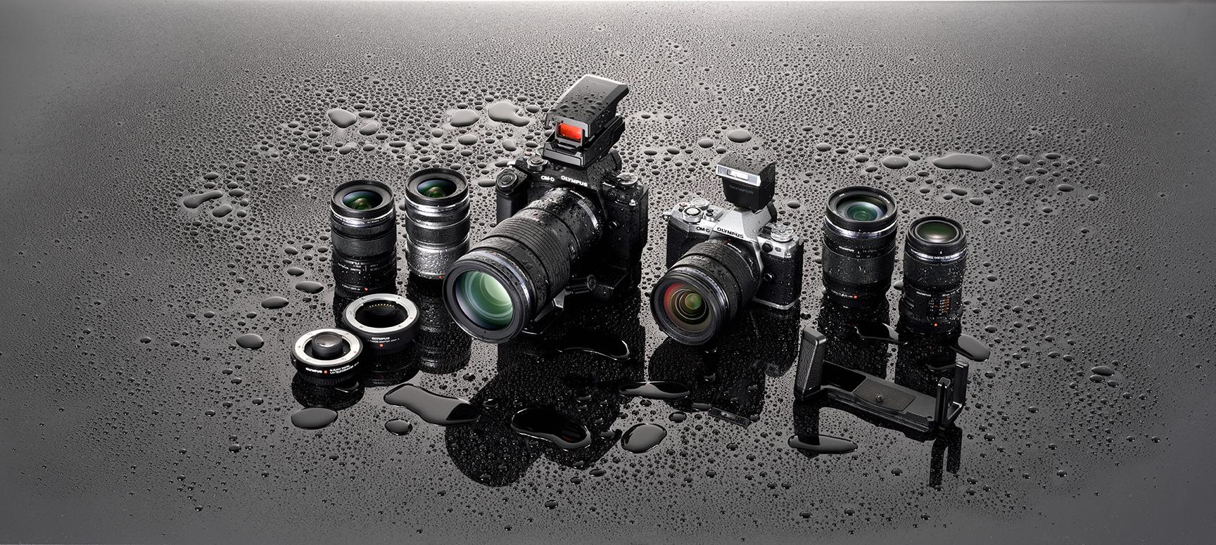 Olympus OM-D E-M5 Mark II Dustproof, Splashproof