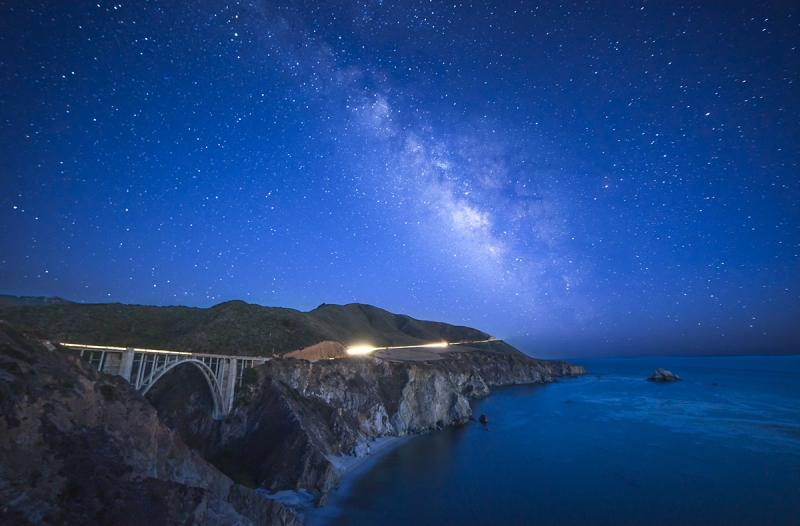Milky-Way-and-Bixby-Bridge