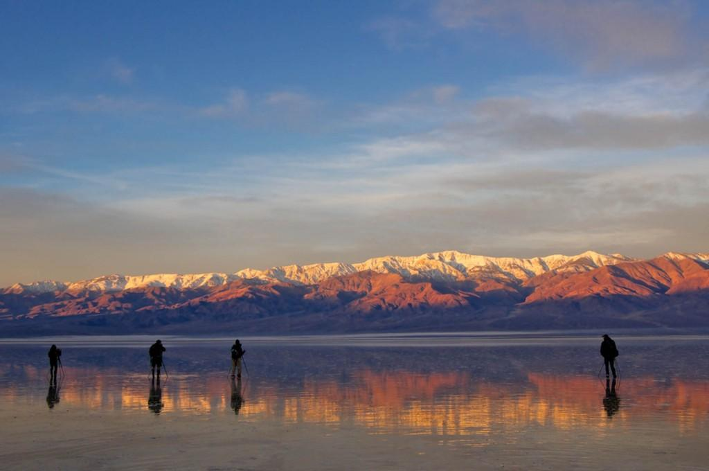 Sunrise in Death Valley and the photographers who were there to capture it.