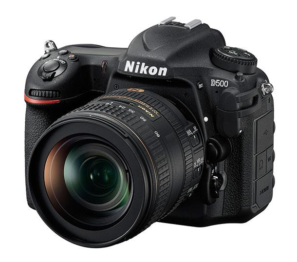 Nikon's D500, the long-awaited successor of the venerable D300S.
