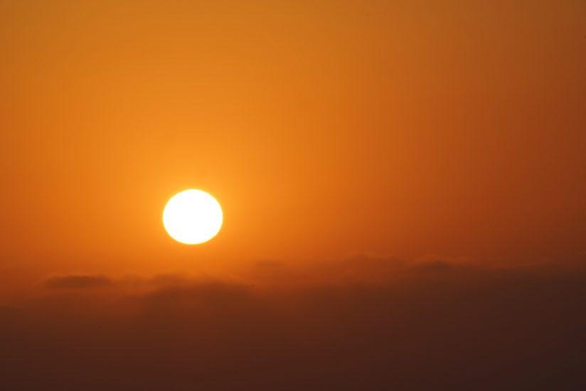 Sunset at 400mm
