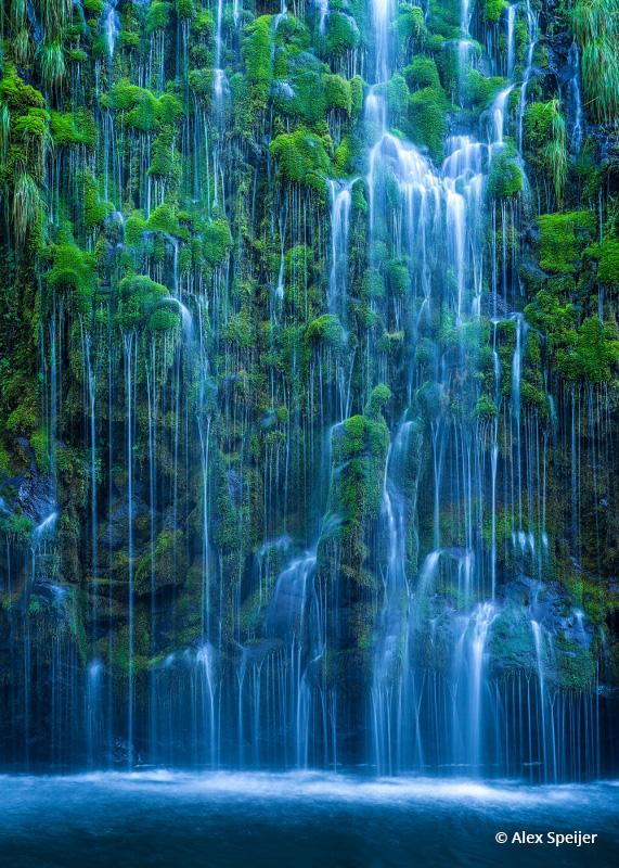 "Today's Photo Of The Day is ""Forbidden Falls"" by Alex Speijer. Location: Mossbrae Falls, Dunsmuir, CA."