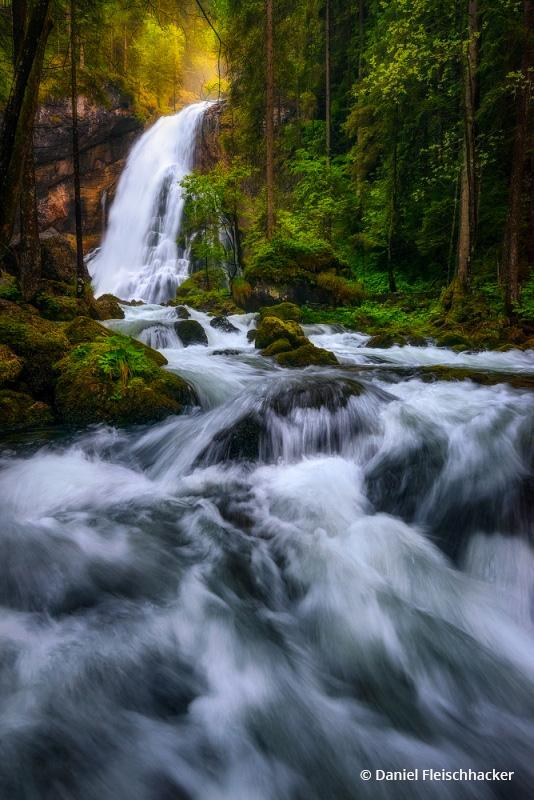 Today's Photo Of The Day is Spring Flood by Daniel Fleischhacker. Location: Golling, Austria.