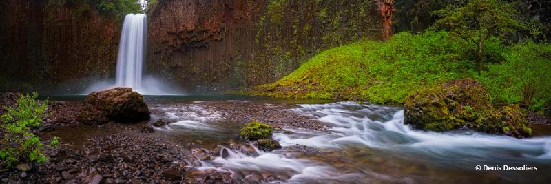 "Today's Photo Of The Day is ""Powerful Falls"" by Denis Dessoliers. Location: Scotts Mills, Oregon."