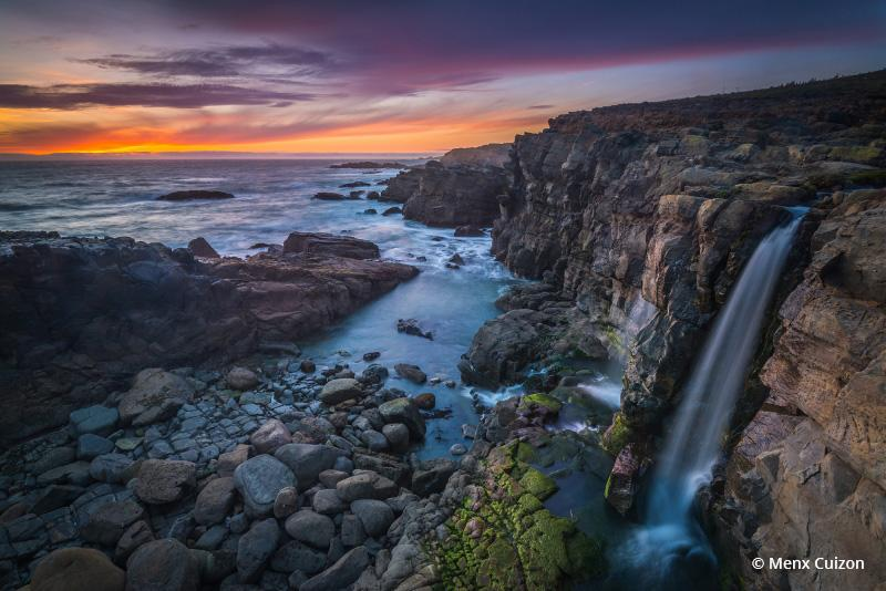 "Photo Of The Day is ""Afternoon Delight"" By Menx Cuizon. Location: Kashaya Falls, Salt Point Park, Sonoma, California."