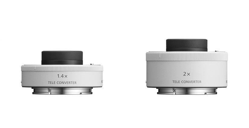 Sony 1.4x SEL14TC and 2.0x SEL20TC teleconverters