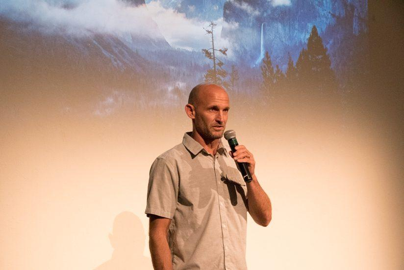 Jeff Johnson, climber, adventurer and staff photographer for Patagonia, was the SUMM1T keynote speaker.