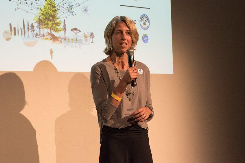 Kate Williams, CEO of 1% for the Planet, gave an overview of the organization's mission and commended Peak Design for joining.