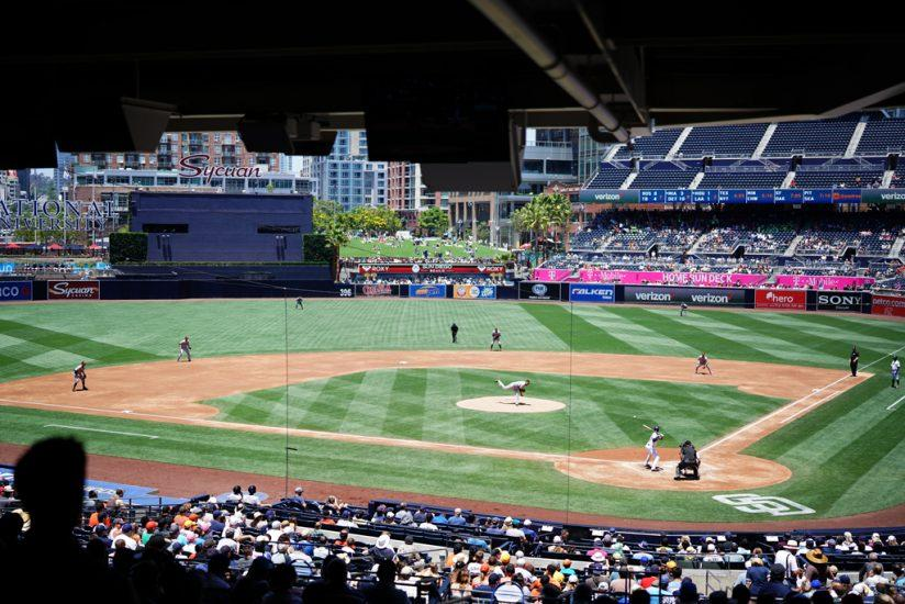 From the crowd at Petco Park