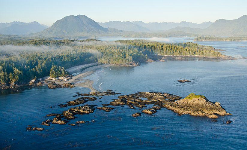 West coast of Vancouver Island, British Columbia, Canada.