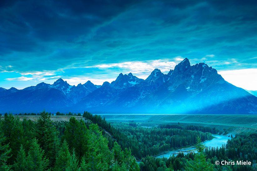 Sometimes the scenic overlook really is the best option. Snake River Overlook, Grand Teton National Park, Wyoming.