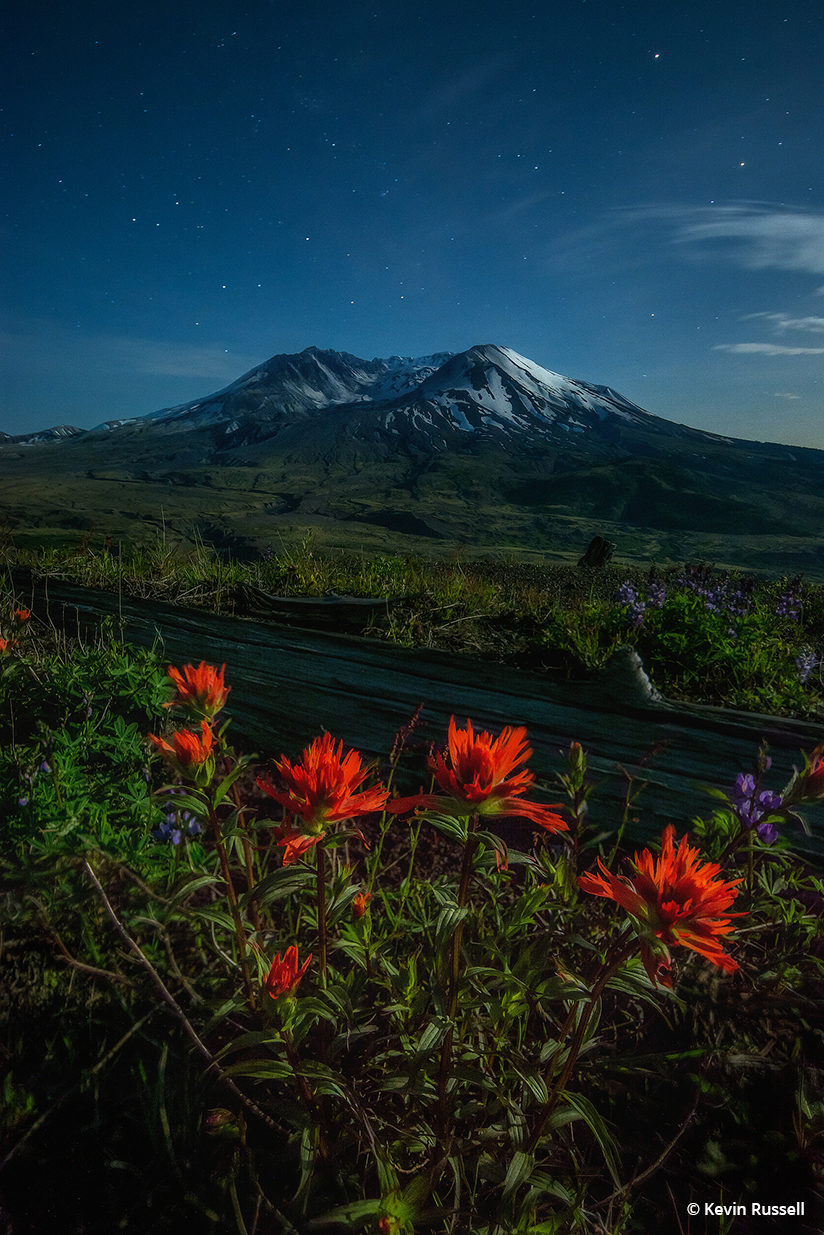 """Behind The Shot: """"Revival"""" By Kevin Russell— Mount St. Helens National Volcanic Monument, Washington"""