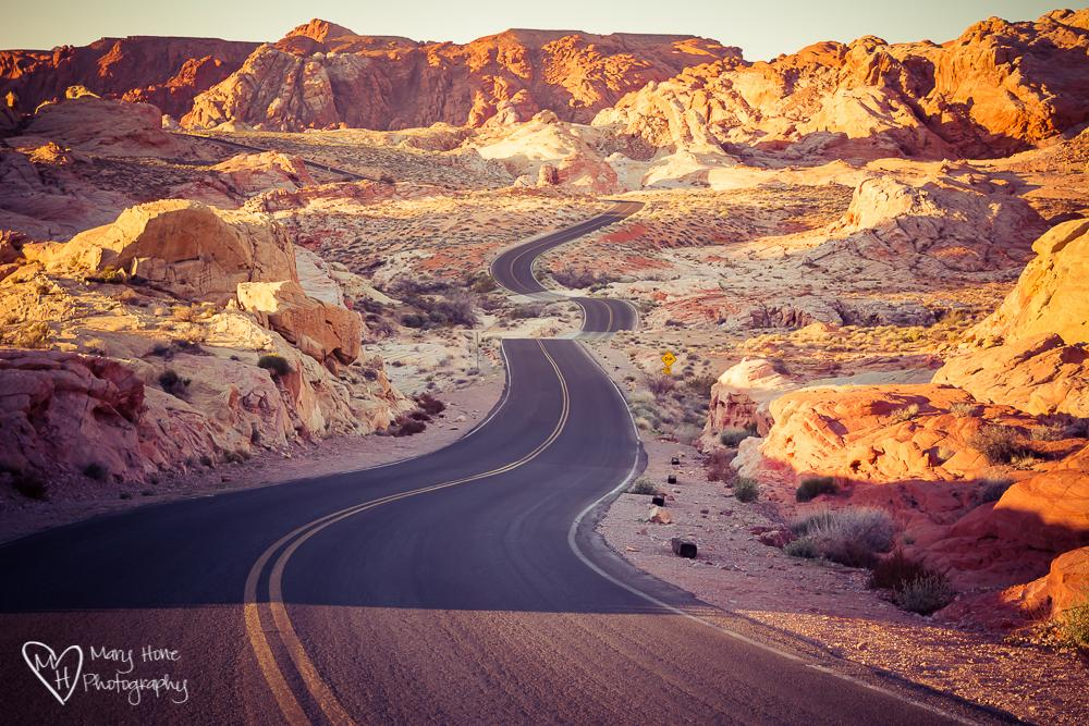 "Today's Photo Of The Day is ""Valley of Fire"" by Mary Hone. Location: Valley of Fire State Park, Nevada."