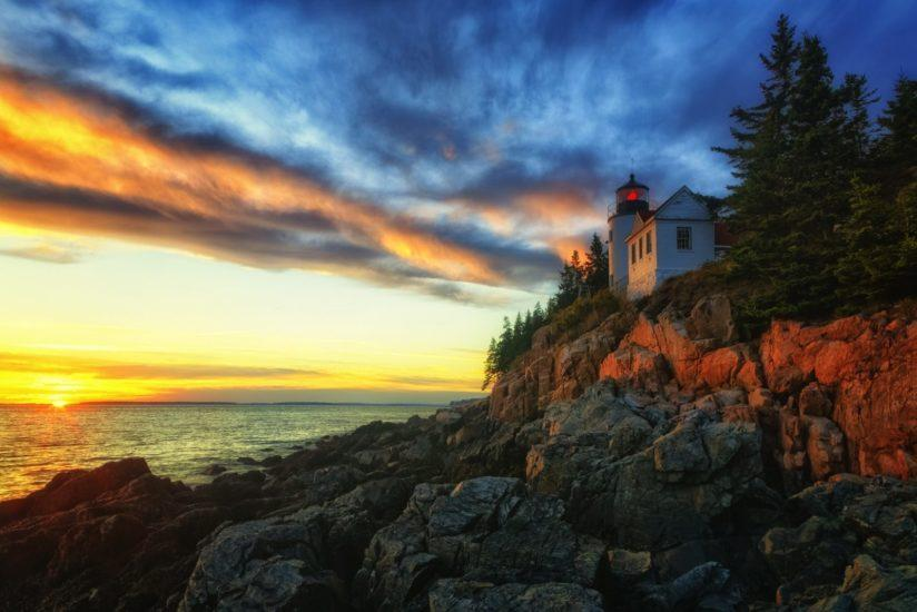 "Today's Photo Of The Day is ""Maine Sunset"" By Michael Swindle. Location: Acadia National Park, Maine."
